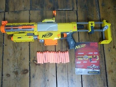 Nerf N-Strike Recon CS-6 Nerf Barrel Stock Light/ Scope with 20+ Darts - TESTED