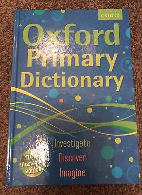 Oxford Primary Dictionary Hardback 2011 by Oxford Dictionaries Hardcover Book