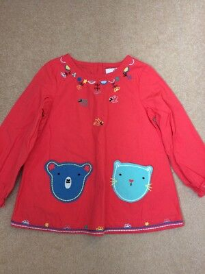 M&S Marks And Spencer Girls Dress Tunic Top