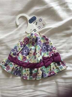 Baby Girl Nutmeg Summer Hat Size 3-6 Months