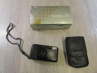 Yashica T4 Super D 35mm Weatherproof Point & Shoot Film Camera