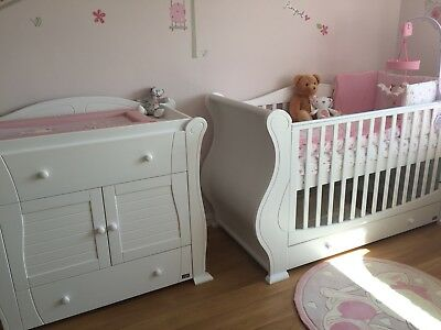 Tutti Bambini Marie Changing unit white RRP over £500
