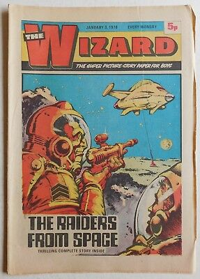 WIZARD Comic - 3rd January 1976
