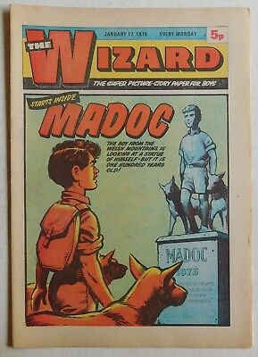 WIZARD Comic - 17th January 1976