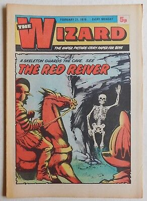 WIZARD Comic - 21st February 1976