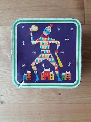 "Vintage Cadbury Biscuit Box, ""Lucky Numbers"""