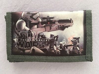 STAR WARS - THE FORCE AWAKENS - Geldbörse/ Portemonnaie/ Brieftasche/ Geldbeutel