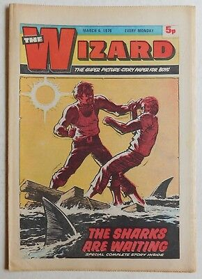 WIZARD Comic - 6th March 1976