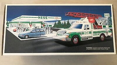 NEW IN BOX HESS RESCUE TRUCK w/SOUND HORN SIREN LIGHTS  Toy  COLLECTIBLE 1994
