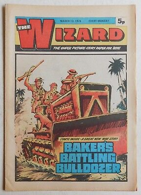 WIZARD Comic - 13th March 1976