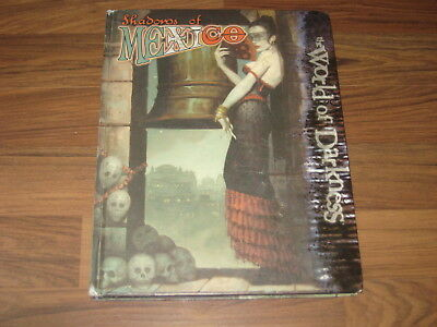 The World of Darkness Shadows of Mexico Hardcover 2006 White Wolf WW25201 WoD G