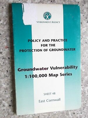 Environment Agency Groundwater Vulnerability Map East Cornwall.