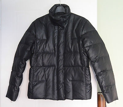 Navy Blue/Black down jacket from OLSON size 8 (more like a 10)