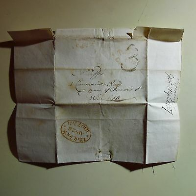 Signed Letter 1807 Dr. Firminger Assistant to Astronomer Royal Greenwich, London