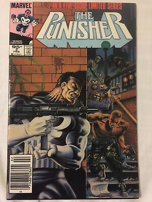 Punisher Limited Series 2 Canadian Price Variant VF/NM