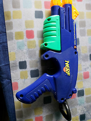 Old School Nerf Guns the Wrist Rocket and the Sharp Shooter 2