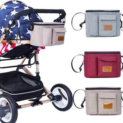 Baby Stroller Bag Organizer Carriage Pram Buggy Cart Bottle Mommy Travel Bags