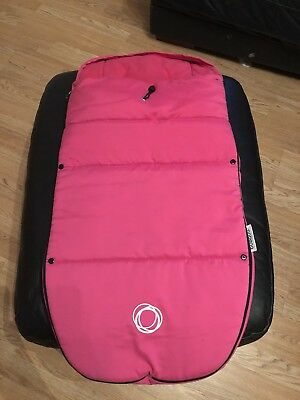 Genuine bugaboo footmuff hot PInk