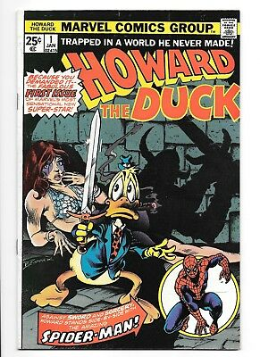 Howard The Duck #1, January 1976! Vf-/vf Condition! Bronze Age Marvel Classic!!