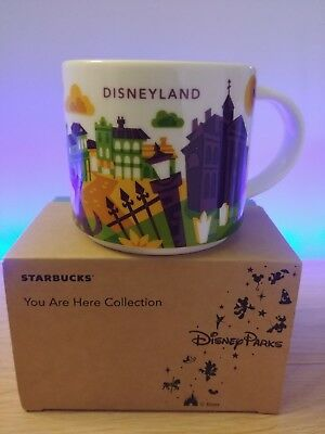 Disney Parks Starbucks You Are Here Mug New Orleans Square Haunted Mansion