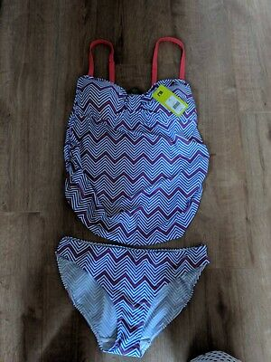 Blooming Marvellous Maternity Tankini / Swimsuit Size 14
