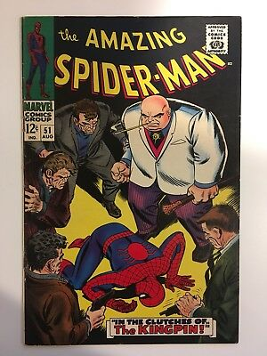 The Amazing Spider-Man #51 (6.5) 2Nd Appearance Of Kingpin! Cgc/cbcs It