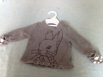 M&S Peter Rabbit Baby Boy Jumper 0-3 Months