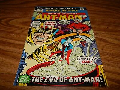 HG VERY HOT KEY Bronze Age Comic The Astonishing Ant-Man #10 END OF ANT-MAN VF+
