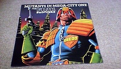 "Fink Brothers Mutants In Mega-City One Uk 12"" Ps 45 2000Ad Judge Dredd Madness"