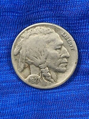 1927 S Buffalo Nickel, A Very Fine Example, 4th Lowest Production 1920's Coin.