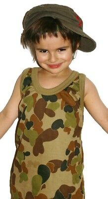 Tank Top - Kids - Auscam - Army & Military