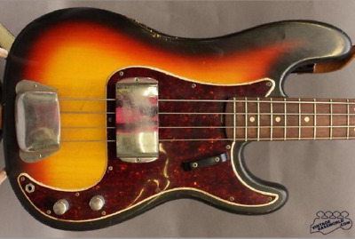 """1966 Fender Precision Bass One Owner """"barn Find Untouched All Original Condition"""