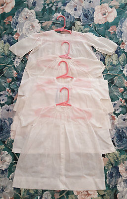 Vintage Baby Dresses And For Doll Dresses Approx 3-6 Months-Lot of Four