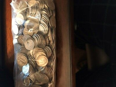 Lot Of 500 %90 Silver Dimes 1964 And Older