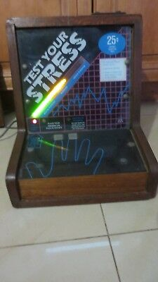 ARCADE Stress METER COIN OPERATED MACHINE