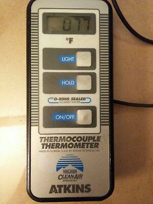 Atkins Thermocouple Thermometer Tester-Free Shipping To USA!