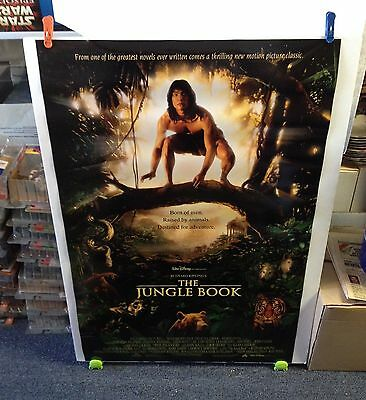 Rudyard Kipling's THE JUNGLE BOOK Movie Poster 27x40 One Sheet **2-Sided