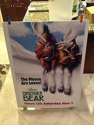 Disney's BROTHER BEAR Movie Poster 27x40 One Sheet / 2-Sided