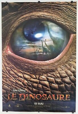 * ULTRA Rare * FRENCH Dinosaur LE DINOSAURE Movie Poster 27x40 One Sheet