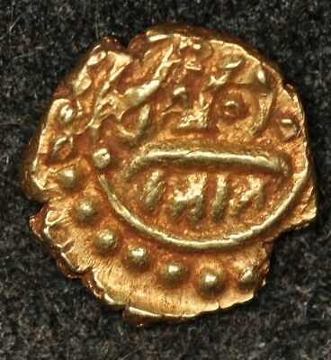 Am1212 Mysore India Gold Fanam Tipu Sultan