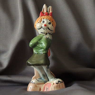 Honey Bunny Carosello Liquor Ceramic Decanter  - Warner Brothers Collectible
