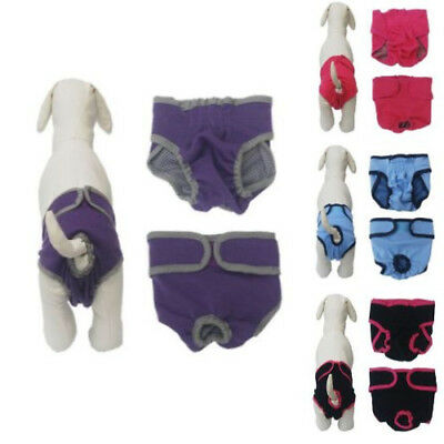 Female Dog Diapers Comfort Washable Potty Pads Training Reusable Pants For Pet