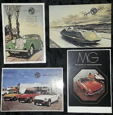 MG Postcards x 4 in Mint Condition
