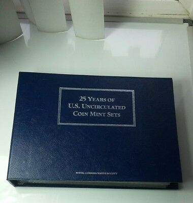 1963-1988( 25 Years ) U.S. Postal Commemorative Society Coin  Mint Sets & Stamps