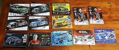 2018  Virgin Australia Supercars drivers cards x 13 - ALL SIGNED !!!