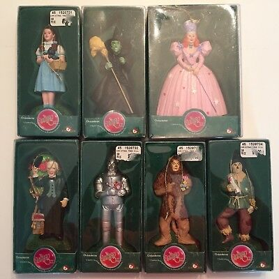 The Wizard of Oz. Complete Set of Ornaments by Kurt S. Adler. 2000