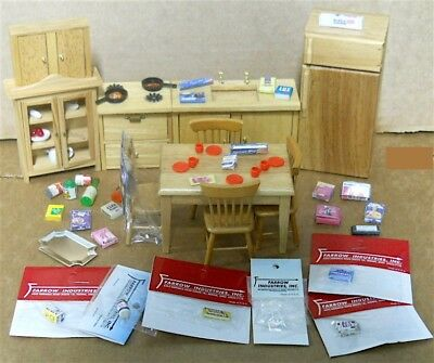 Dollhouse Kitchen Set & Accessories mixed Lot 1:12 scale