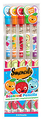 Scentco Scented Graphite Pencils  ( Smencils ) - 5 pack