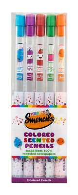 Scentco Scented Colored Pencils  ( Smencils ) - 5 pack