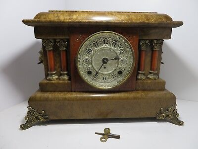 1880 Antique SETH THOMAS CLOCK  Awesome Piece 138 Years Old - Still Going Strong